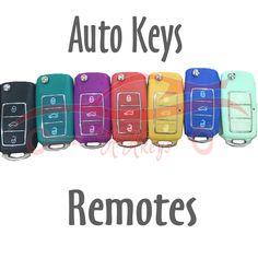 car keys, remotes