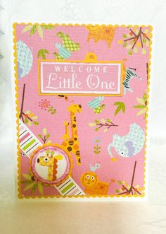 Stampin Up hand made cards: Happy New baby Little Bundle by Wcards