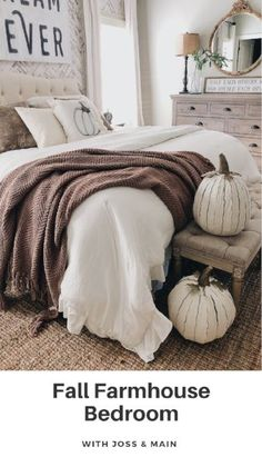 Fall Farmhouse Bedro