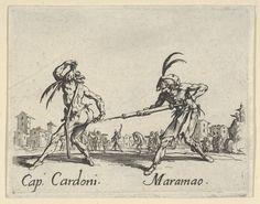 Jacques Callot | Cap. Cardoni - Maramao, from the Balli di Sfessania | ca. 1622