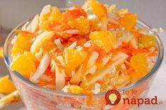zemiaky ani ryža - dajte si ako prílohu toto a kilá pôjdu dole: Bleskový detox za 1 týždeň - zbierka 6 top šalátov s mrkvou! Healthy Salad Recipes, Detox Recipes, Vegetarian Recipes, Cooking Recipes, Dieta Detox, Cooking Light, Macaroni And Cheese, Cabbage, Good Food
