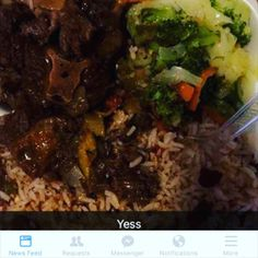 Jamaican Food 2 U  Catering  Wednesday - Saturday  323. 424. 1857 Topp a Topppp  Fridays.... #oxtailswithdumplings #riceandpeas #steamedveggies  #plaintains $15 Free Delivery on orders $30 or more Mi soon start a youtube page to engage with my customers by way of video.  #jamaicanfood #jamaicanfood2u #food #foodporn #goodfood #goodenergy #foodporn #jamaicanfoodporn #losangeles #inglewood #laderaheights #culvercity #foxhills #compton #watts #therealyaadcookshop #realyaadyute by jamaicanfood2u
