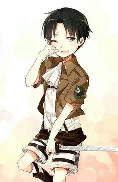 Levi Ackerman, cute, young, childhood; Attack on Titan