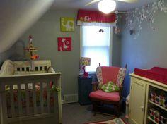 Hot pink elephant room for Julie!