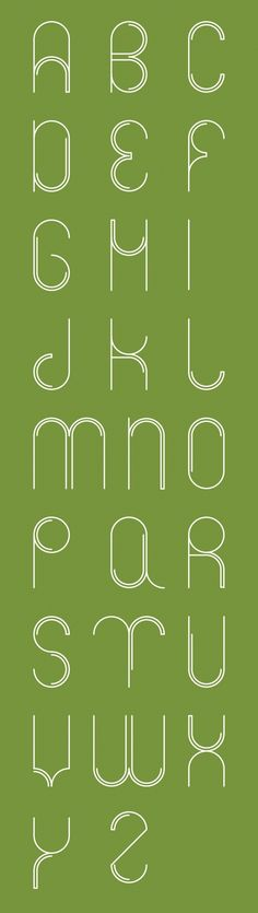Circle font