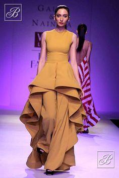 Gauri and Nainika at Wills Lifestyle India Fashion Week