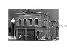 Scale Structures HO Scale Victoria Falls Firehouse Kit