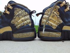 Versace 12's. #CustomsOfTheDay  or