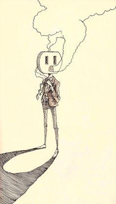 pen & ink -Mckay Felt