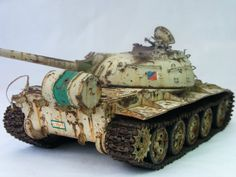 Iraqi T-55m 1/35 Scale Model