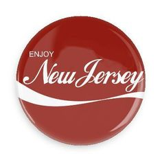Enjoy New Jersey Pin-back Button