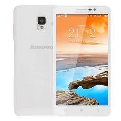wallmart.win-Smartphones-White Lenovo A850+ 1gb+4gb 5.5 Inch Android 4.2 Mtk6592 Octa Core 1.7ghz Network 3g Dual Sim White-best-price