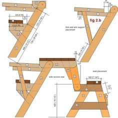 How To Build A DIY In Convertible Folding Bench And Picnic Table - 2 in 1 picnic table bench plans