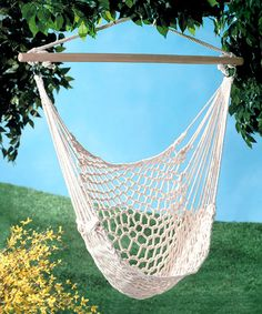 It would be so nice to have a Hammock Chair in the garden!