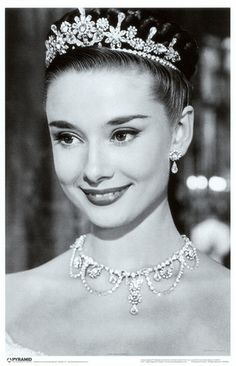 "Audrey Hepburn - from the film ""Roman Holiday"" - Miss Hepburn won the best actress Oscar for her performance in this film."