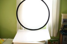 Buy a $9.00 reflector to help with the harsh sunlight through windows!