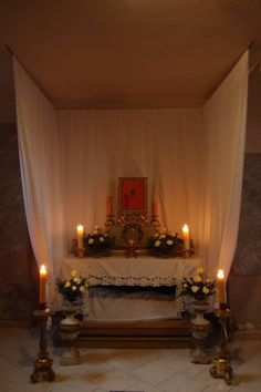"""""""Tomb of Jesus"""" (Holy Saturday, Altar with The Most Blessed Sacrament)"""