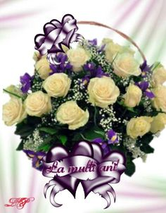 Tort La multi ani fericiti Birthday Wishes Cake, Birthday Blessings, Happy Birthday, Flowers Online, Floral Wreath, Wreaths, Rose Arrangements, Cards, Birthday