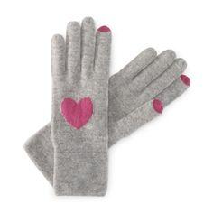 C. Wonder   Cashmere Intarsia Hearts Gloves