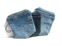 Denim Pockets Wallets