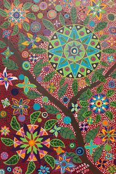 Howard G Charing | Ayahuasca Vision Art Print by Howard G Charing