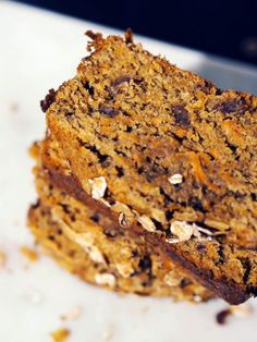Wholewheat Carrot & Date Loaf Recipe - Healthy Baking Ideas
