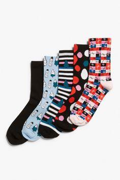 X-mas 5-pack socks