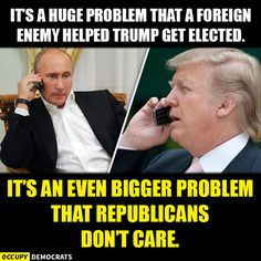 Seriously! It's bizarre that the GOP is suddenly loving Putin! Hope they all drink Putin's special tea. (Don't know how many are old enough to remember Putin poisoning someone with radiation.)
