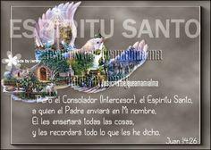 Juan 14:26 - Espíritu Santo