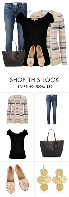 """""""KATE SPADE Totes"""" by sherbear1974 ❤ liked on Polyvore featuring maurices, Frame, Michael Kors, Kate Spade and Oasis"""