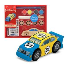 Decorate Your Own Race Car Party Favor by Beau-coup