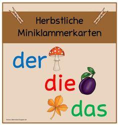 Ideenreise: Herbstliche Miniklammerkarten