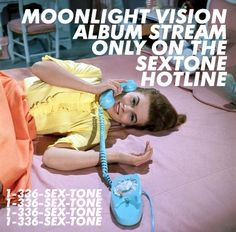 The Sextone Hotline is an exclusive stream of the upcoming Sextones album, Moonlight Vision. Call today! 1-336-SEX-TONE