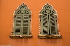 Venitian Architecture by Stéphanie Masson on 500px - Two windows with closed shutters in Verona, Italy.