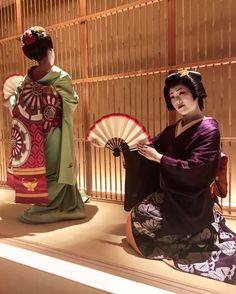 Geiko & Maiko — March 2017: Maiko Masano (Man Okiya) and Geiko...