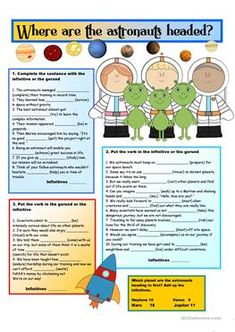 Gerunds and Infinitives with KEY - ESL worksheets