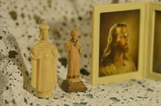 Religious Knick Knack Set by TatteredPalace on Etsy (null)