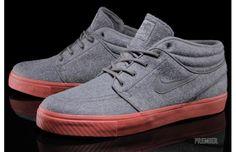 "Kicks of the Day: Nike SB Zoom Stefan Janoski Mid EXP ""Dark Grey/Terra Cotta"""