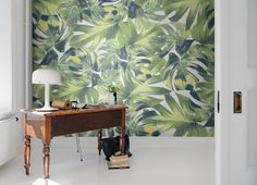 #wallpaper - Welcome to the Jungle - rebelwalls.com - Design News June 2014