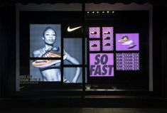 Nike window display nike air elite zoom 8 at harrods, london, 2015 by. Window Display Design, Pos Display, Shop Window Displays, Store Displays, Display Shelves, Web Banner Design, Nike Zoom, Nike Retail, Retail Windows