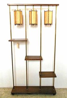 mcm lamp shelf divider