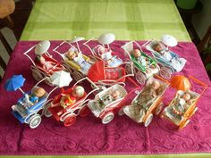 N Tiny Dolls, Old Dolls, Prams And Pushchairs, Dolls Prams, Doll Display, Baby Prams, Plastic Doll, Miniture Things, Miniature Dolls