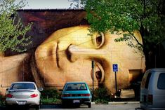 Mona Lisa street art. street art 000