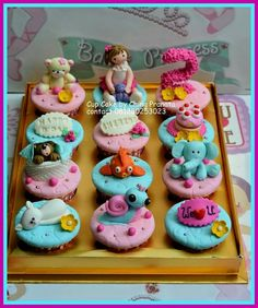 Cup cake for little girl Cup Cakes creation by ching pranata - Jakarta ,Indonesia
