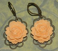 Filigree Earrings by groovychickjewelry, $9.50