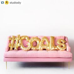 you had us at DIY #Repost @studiodiy with @repostapp.  Those aren't gold letter balloons... They're letter balloon PILLOWS!!!!  DIY on the blog!! www.studiodiy.com #goals (psst... Don't forget to enter our besties giveaway one post back! ) by tafwonly