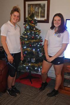 Christmas Spirit time - Finley Regional Care Aged Care, Regional, Young Women, Christmas Fun, Spirit, Guys, Holiday Decor, Lady, Beautiful