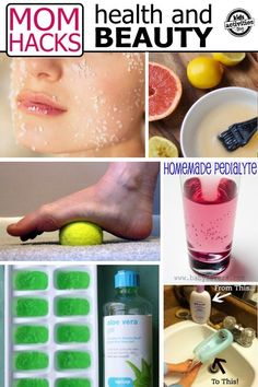 Time is valuable and moms are important, but often as moms it feels like we don't have the time to take care of ourselves. If time is a precious commodity to you, maybe you will appreciate some of these health and beauty hacks that can help you be most efficient with your time. #moms #health #beauty