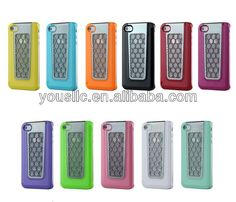 CHROME HARD CASE MOBILE PHONE CASE COVER FOR IPHONE 4 4S  1 Made of PC and Aluminum  2 Low MOQ&Fast delivery