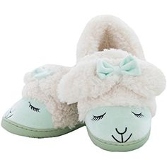 Women's Cute Sheep Cozy Warm Indoor Slippers -- You can get additional details at the image link. (This is an affiliate link) Cute Sheep, Sleep Tight, Image Link, Cute Animals, Slippers, Cozy, Indoor, Warm, Cartoon